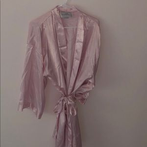 Other - Satin pink robe
